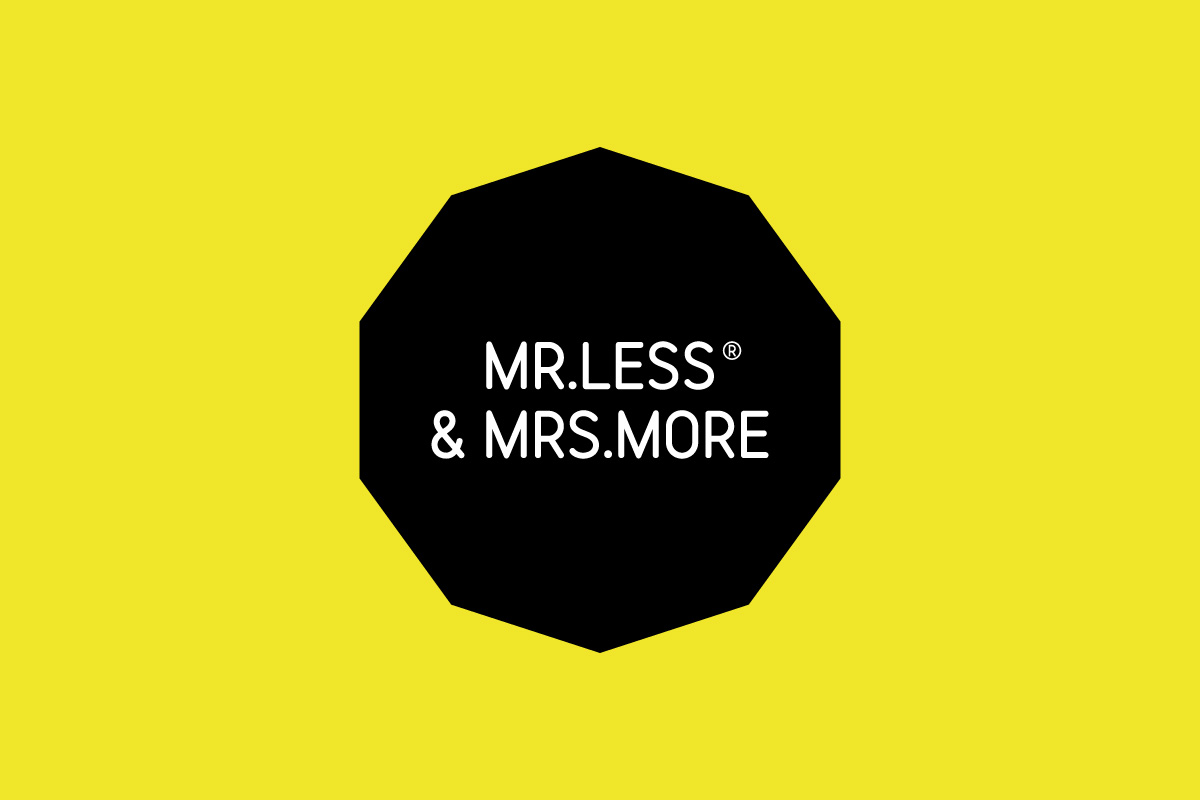 Mr Less & Mrs More